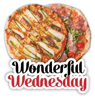 Pizza Deals - Wonderful Wednesday